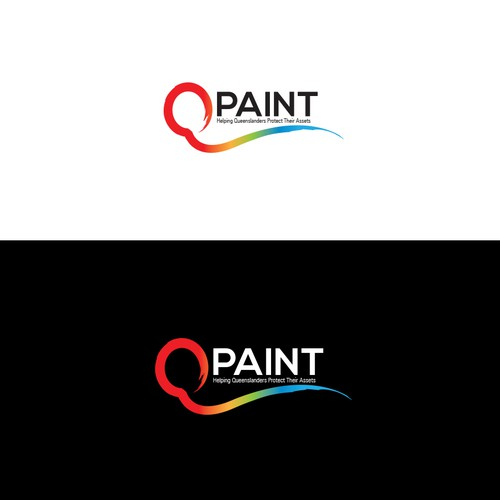 Colorful logo for Qpaint