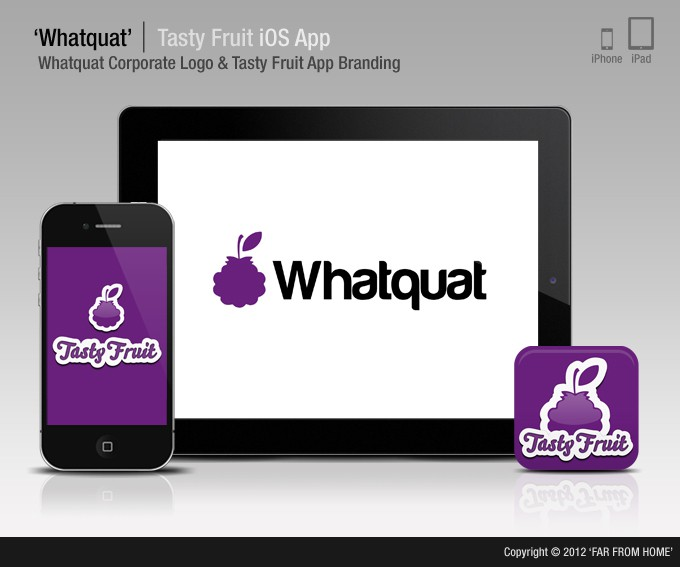 Create the next mobile app design for Whatquat