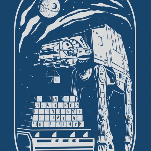 Star Wars-themed t-shirt for Flexport