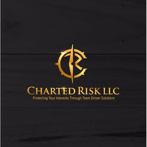 Logo design for Charted Risk LLC