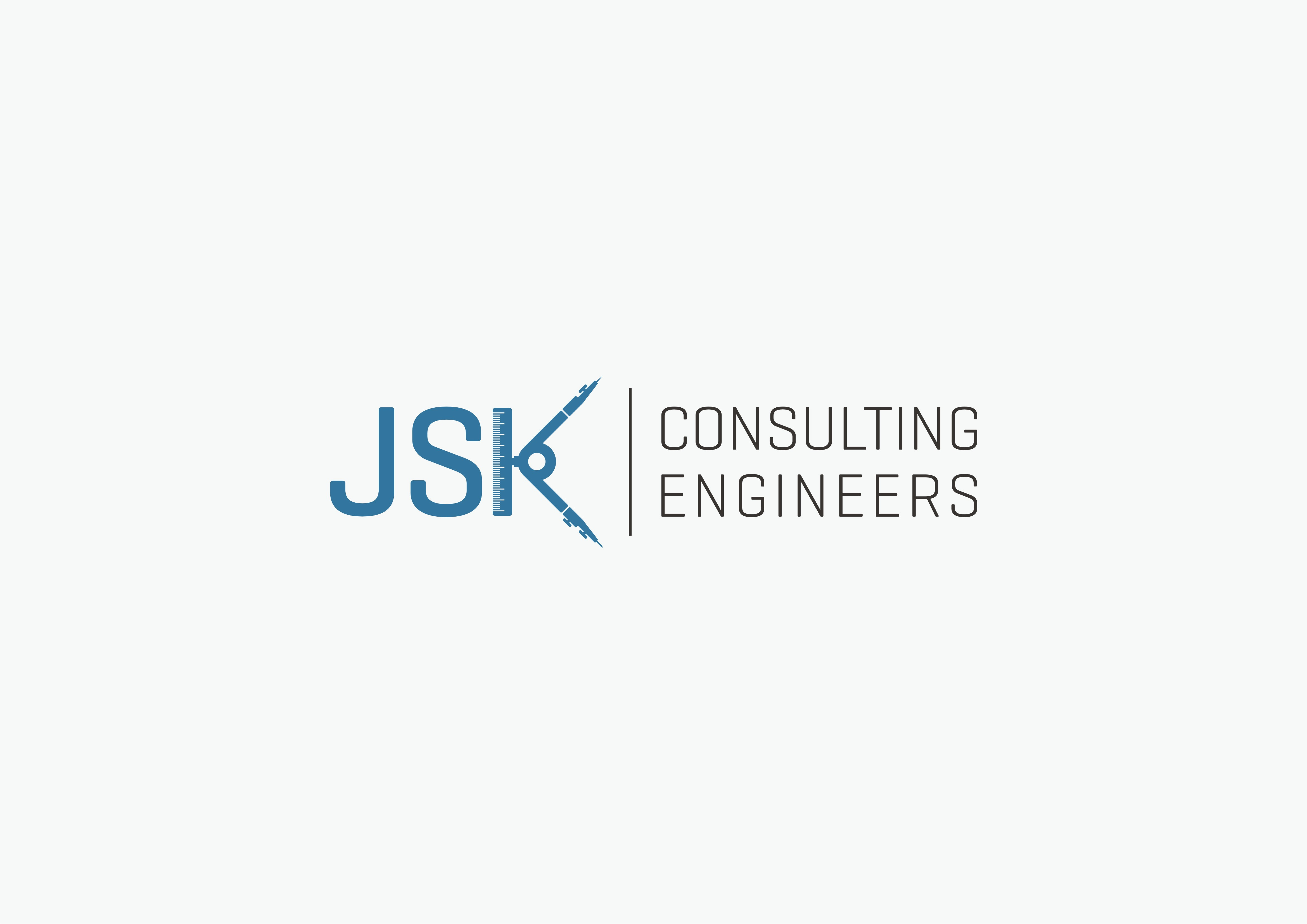 Logo and card design for JSK Consulting Engineers