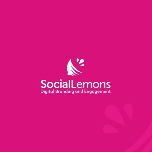 Playful logo for creative social media agency: Social Lemons