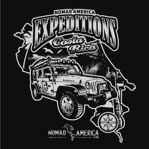 Costa Rican Adventure Company t-shirt
