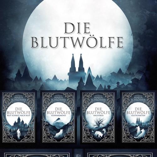 DIE BLUTWOLFE BOOK 1-4