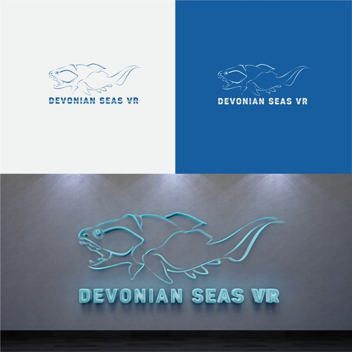 Logo for a prehistoric museographic exhibition