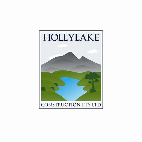 concept logo for construction works