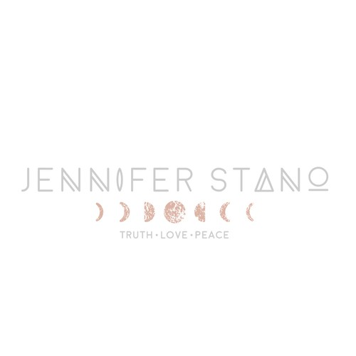 Feminine logo with airy, free feel for a blogger