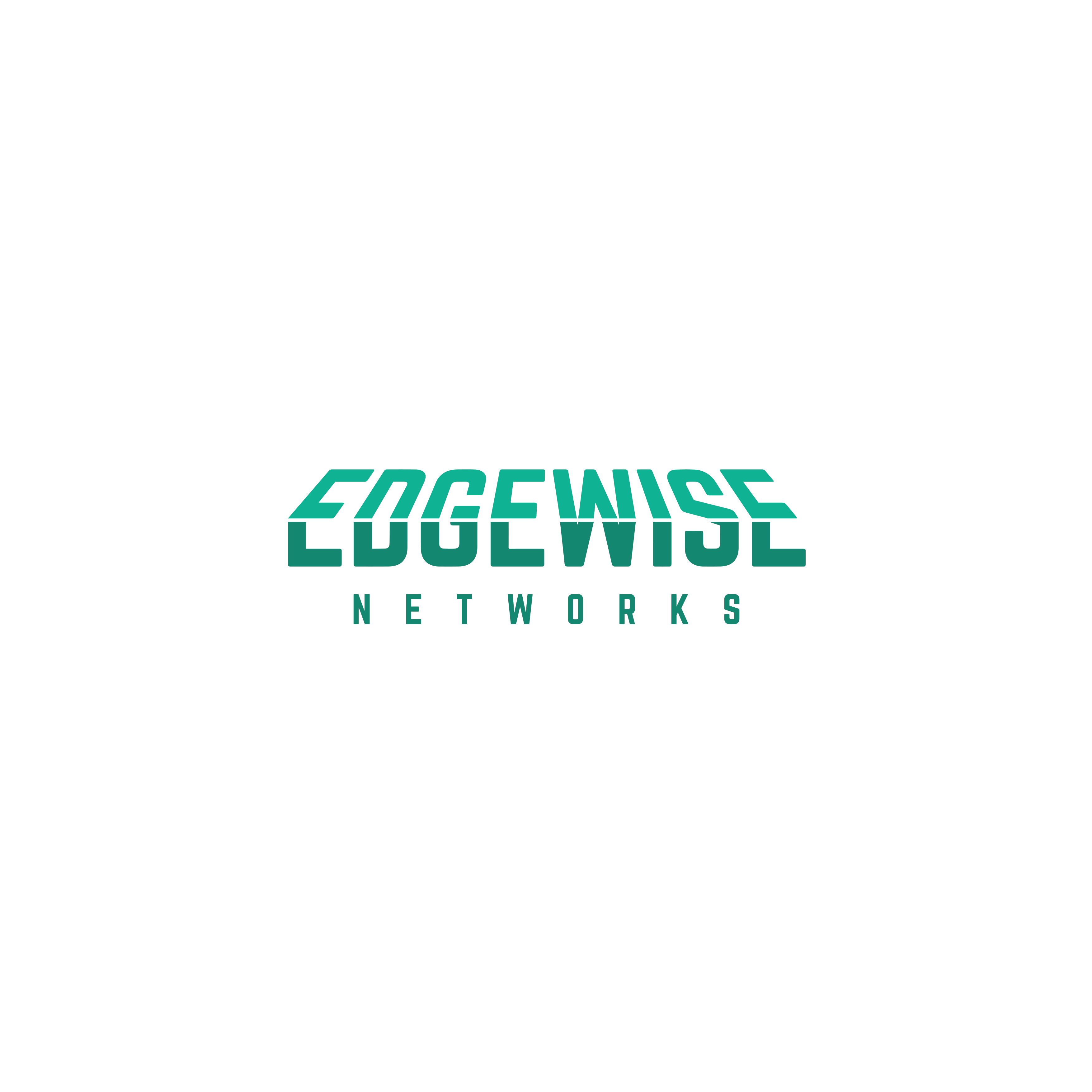 Logo for cutting edge network security company