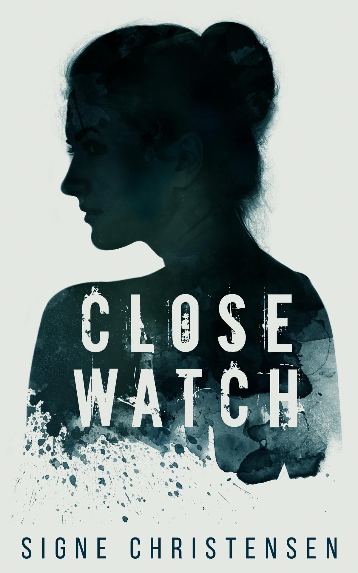 Ebook cover for psychological thriller about stalking.