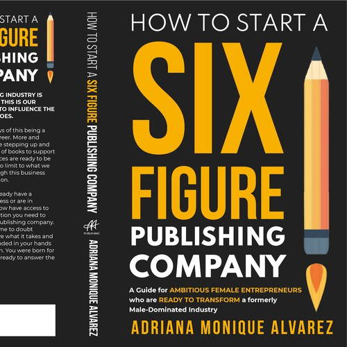 Design a bestselling book cover for Female Entrepreneurs who want to start their own Publishing Co