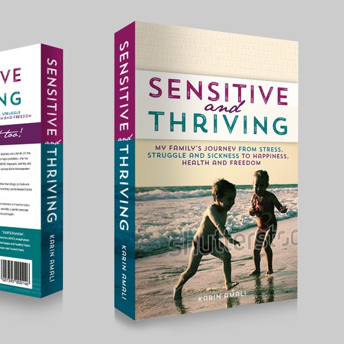 Book cover Sensitive and Thriving