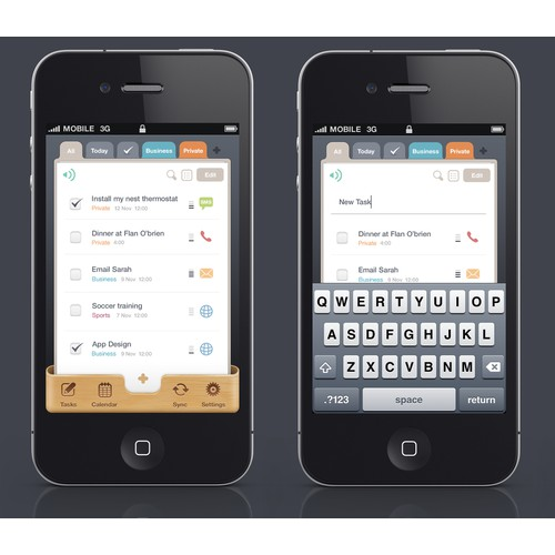 New app design wanted for Todo App