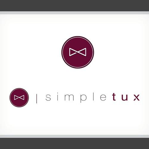 NEW Logo for SimpleTux / A Tuxedo Rental Company