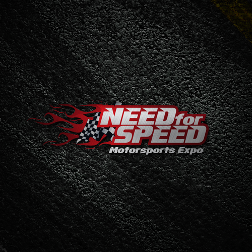 Help Need for Speed Motorsports Expo with a new logo