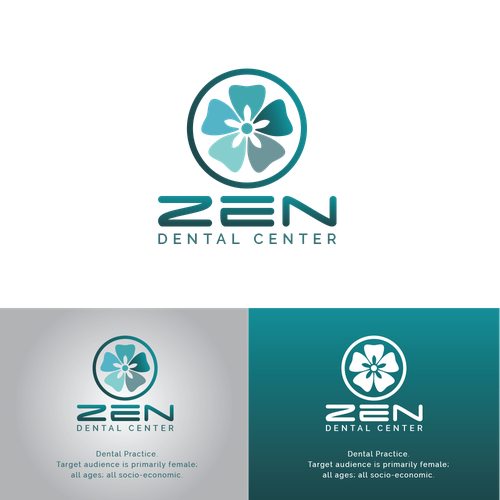 Logo for ZEN DENTAL CENTER