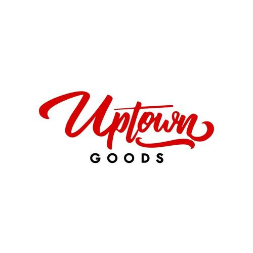 Uptown Goods logo designs