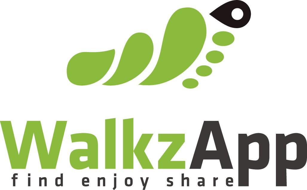Logo for new walking app