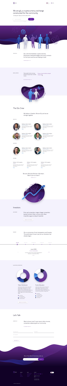 Glu Website Design