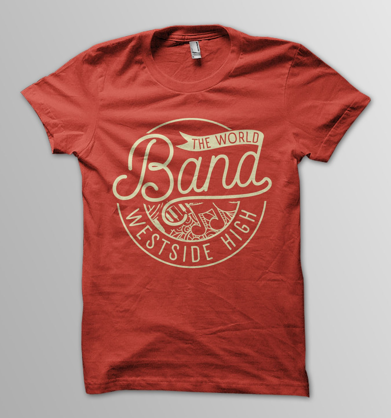 High School Marching Band T-shirt for www.imagemarket.com