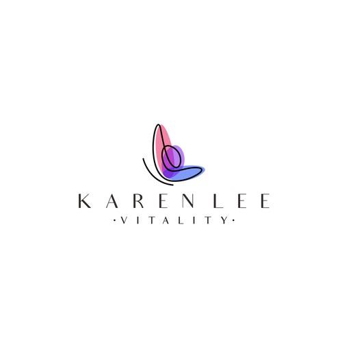 Karen Lee logo concept.