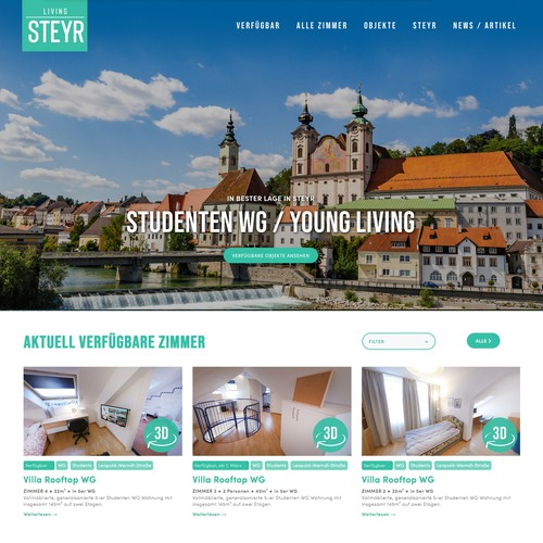 Living Steyr -Student Rooms