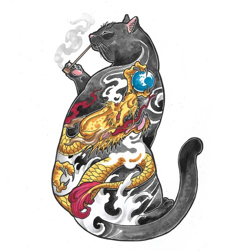 tattoo cats