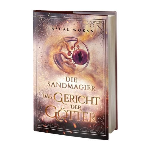 """Book Cover """"Die Sandmagier: Das Gericht der Götter"""""""