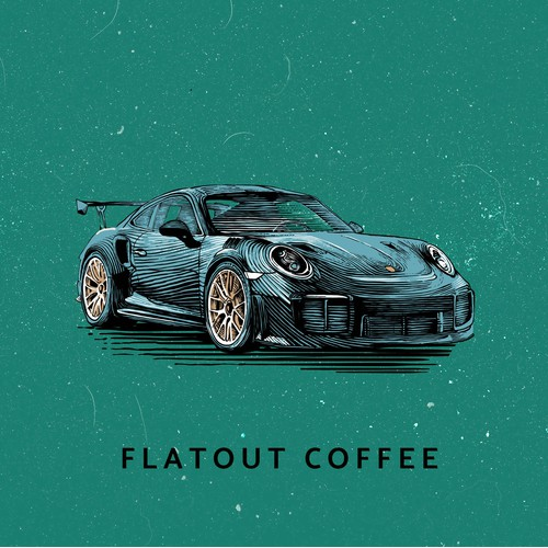 Coffee Cup Design and Illustration