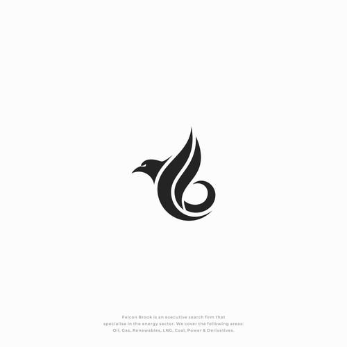 Falcon + Energy + letter F + letter B
