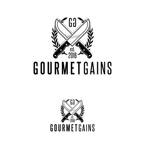 Gourmet Gains Logo Design