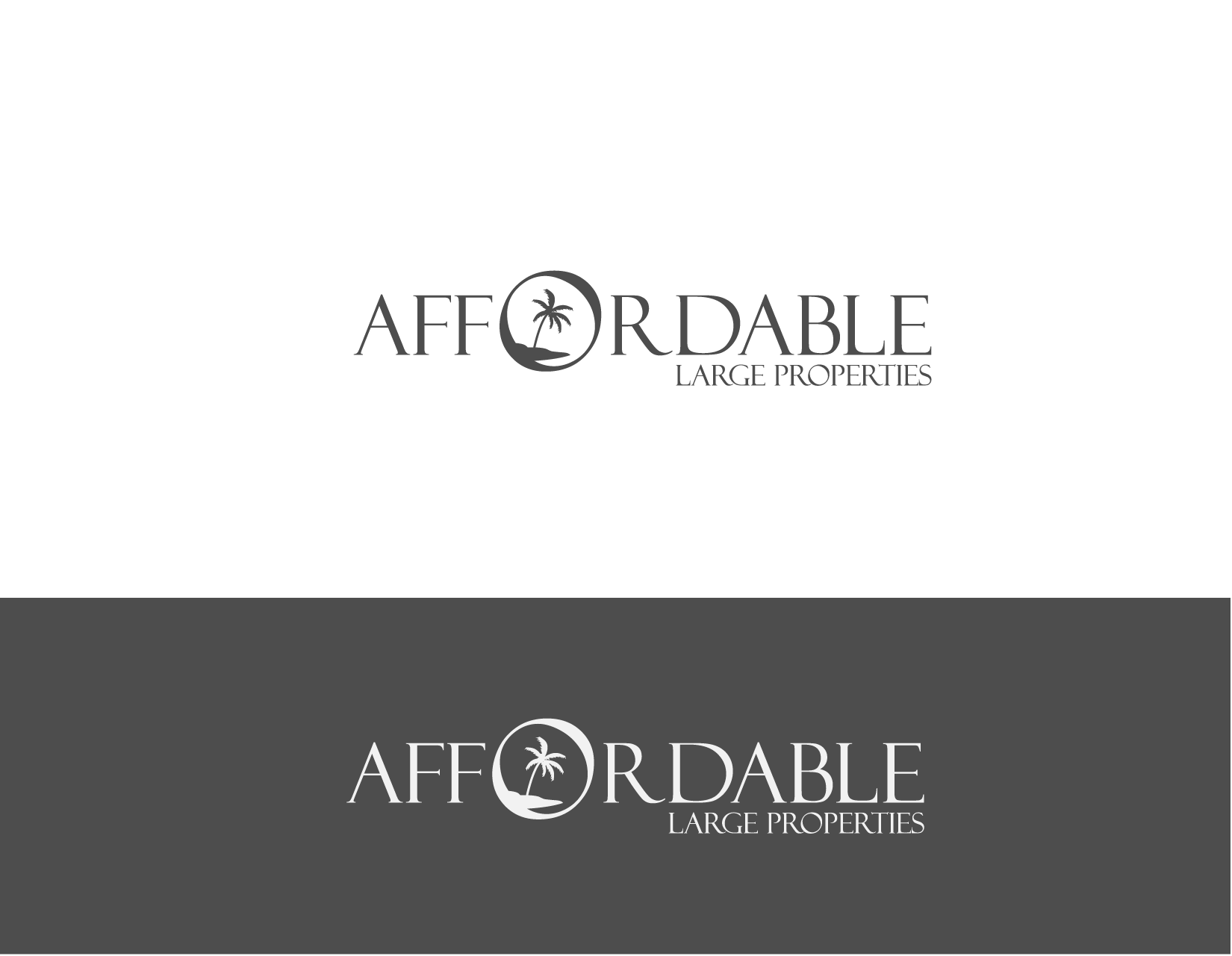 Help Affordable Large Properties with a new logo