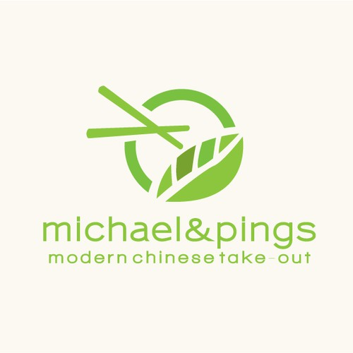 Logo for modern Chinese Take-out restaurant