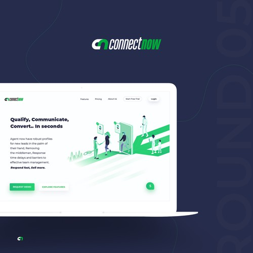Connect now website
