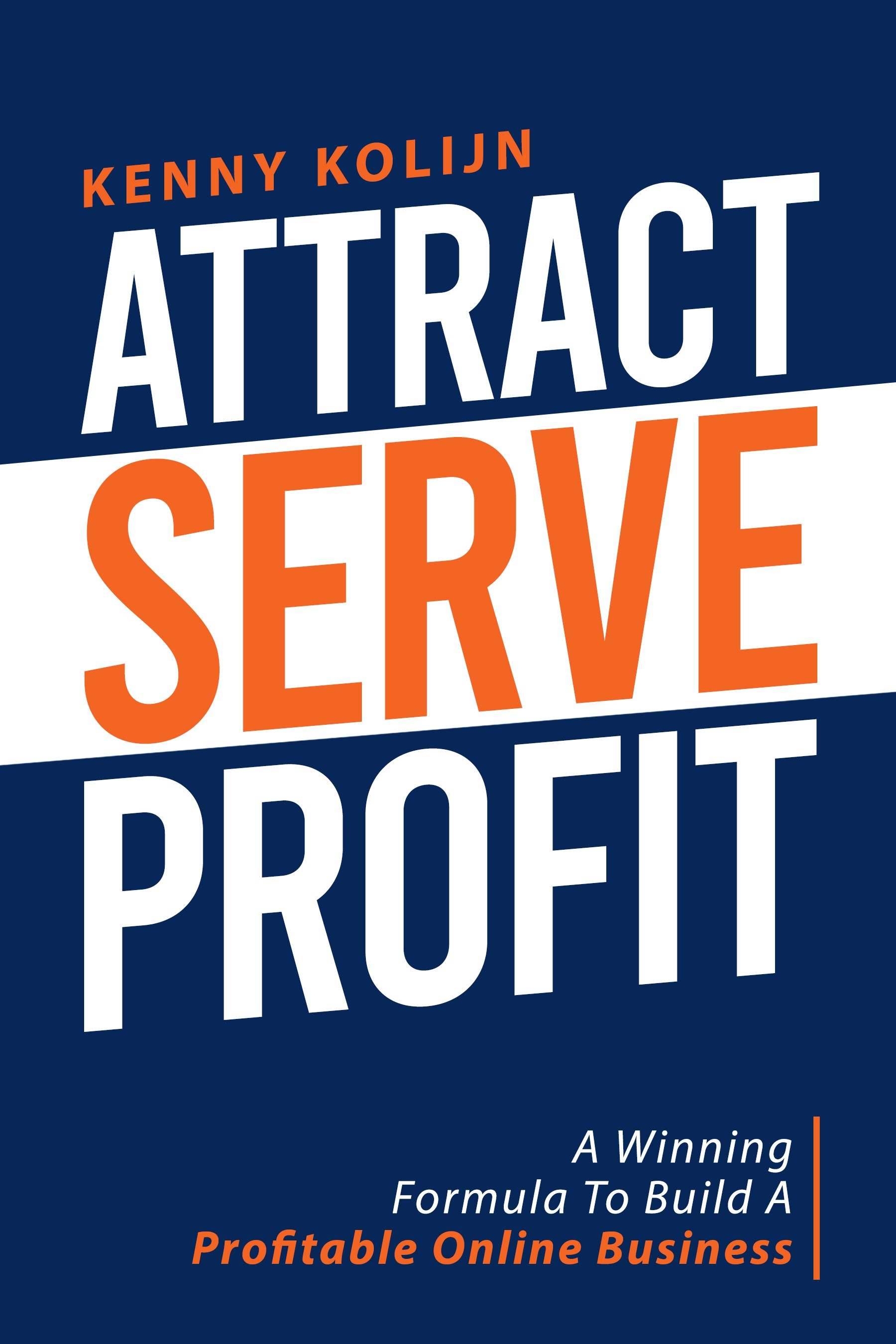 High-Impact Book Cover for Online Business Coach