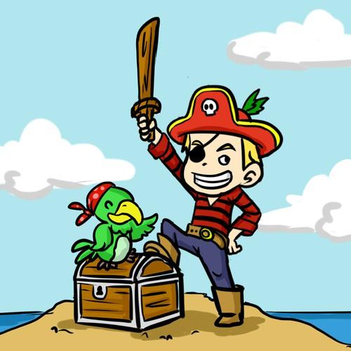 Kids CD Illustration