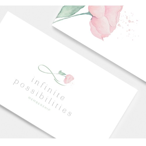 Logo design for Infinite Possibilities