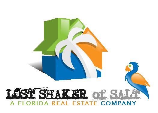 Create a playful, vibrant, colorful logo for a Florida real estate company