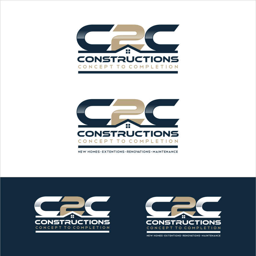 Create a unique and creative logo for an up and coming building company