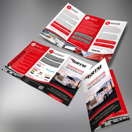 GRTM tri-fold brochure