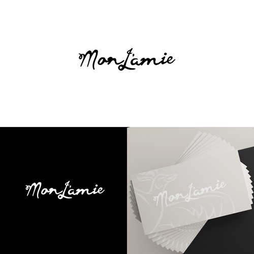 Clean logo for a clothing store