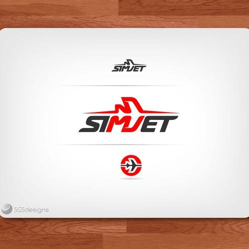 Bold design for flight simulator