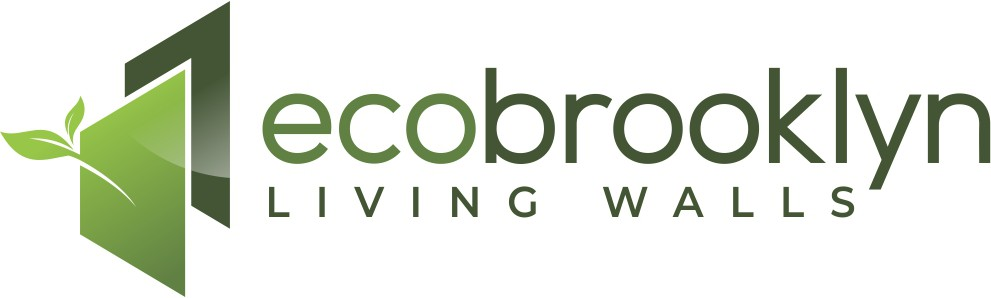 Eco Brooklyn is a cutting edge green builder specializing in living walls. Can you design a cutting edge logo?