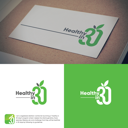 Modern logo for nutritionist