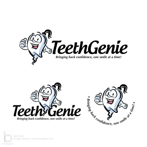 A Genie who Loves teeth - Identity Design for Teeth Genie