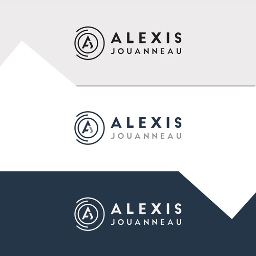 Eye catchy logo design for Alexis Jouanneau