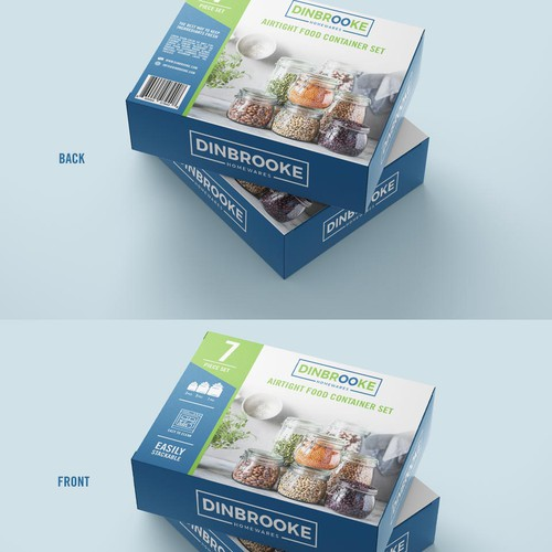 Food Container Set Package