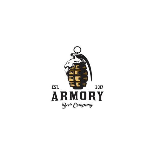 Smart logo for brewing company