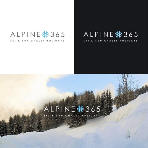 Alpine365 logo design