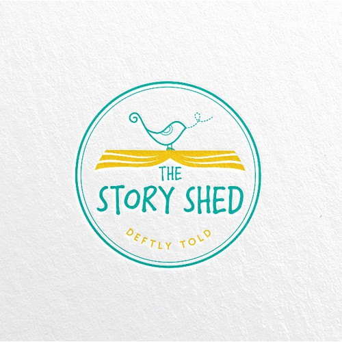 The Story Shed logo
