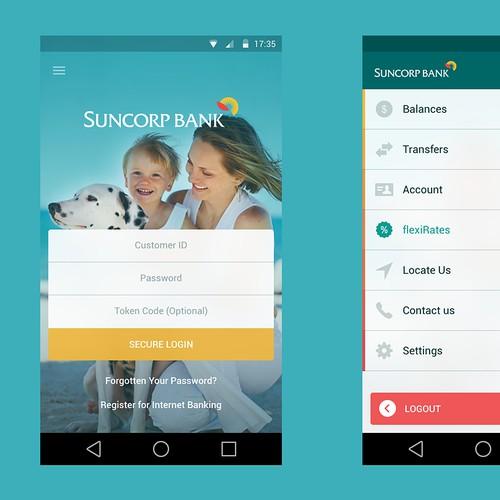 Bank App Redesign